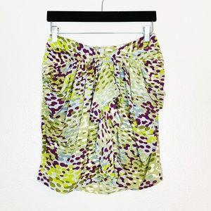 Joie | Silk Ruffled Midi Skirt